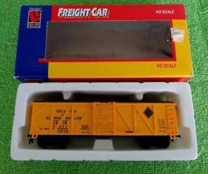 HO Life-Like 8417 CHICAGO ILLINOIS MIDLAND C&IM 40' SD OB Wood Box Car 8004 NIB