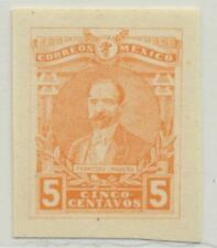Mexico Sc. 504 Francisco Madero 1915 Mnh Imperforate