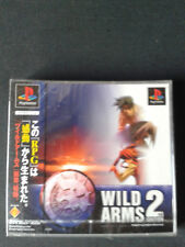 PS1 WILD ARMS 2  Jap  Neuf sous blister - NEW/ FACTORY SEALED