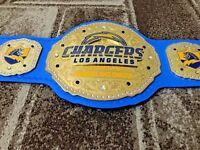 Chargers Los Angeles NFL Championship Wrestling Belt Adult Size