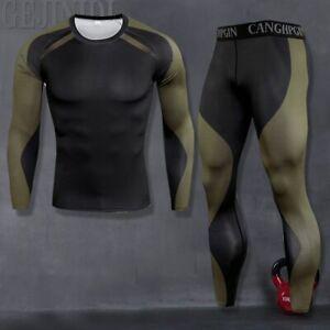 Brazilian Jiu Jitsu BJJ Rashguard & Spats Compression NoGi Set MMA Fight Wear