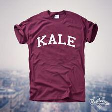 KALE Vegan Superfood Gym Veg Gift Fashion Music Tumblr T shirt Tee Top UNISEX