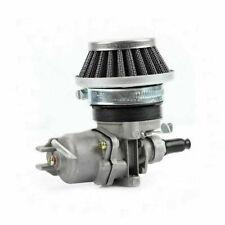 Carburateur Pocket Bike + Filtre Air pour 47cc 49cc ATV Dirt Mini Moto Argent_