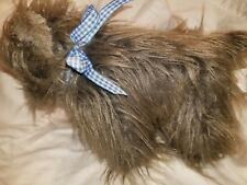 "WIZARD OF OZ   9"" TOTO Plush Dog Dorothy Pet Warner Bros Stuffed Toy Rubies"