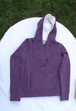 Authentic NIKE ACG Knit Lined Top w/Attached Hood -Purple-Womens M -NEW w/o Tags