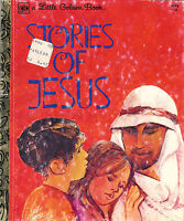 Stories of Jesus - A Little Golden Book #114 - 4th Printing 1976 ~ FREE Shipping