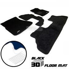 Black 3D Car Floor Mat Custom Fits Carpet Interior 4pcs For BMW 2007-2013 X5 E70