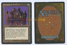 MTG MAGIC Calendario di Pietra - Stone Calendar - Italiana Oscurità Dark - 1995