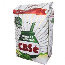 Y217 YERBA MATE TEA CBSE SERRANAS MINT VALLEY HERB BLEND 1KG