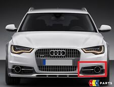 NEW GENUINE AUDI A6 ALLROAD 13-17 FRONT BUMPER LOWER LEFT N/S AIR GUIDE GRILL