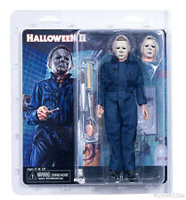 "Halloween II (2) MICHAEL MYERS 8"" Retro Action Figure NECA In Stock"