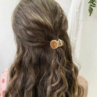 Crystal Jelly Color Classic Korean Hair Clip Hairpin Fashion Hair Accessories t