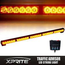 "31"" 32"" 30 LED TraffIc Advisor Emergency Warning Flash Strobe Light Bar Amber"