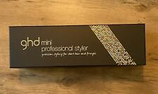 BRAND NEW AND BOXED GHD MINI GOLD STYLER HAIR STRAIGHTENER  !