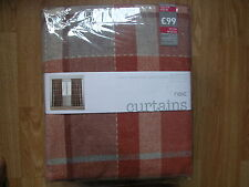 NEXT Checked Curtains & Pelmets