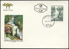 Nature Austrian First Day Cover Stamps