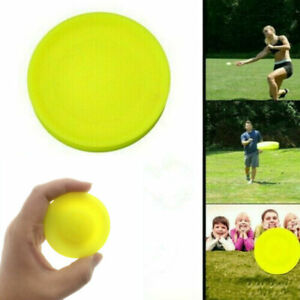 Outdoor Flying Disc Mini Pocket Flexible UFO Saucer Spin in Catching Games