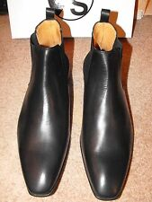NIB PAUL SMITH ITALY leather Chelsea Boots size UK 10.5 EU 44.5 US 11.5