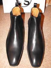 NIB PAUL SMITH ITALY leather Chelsea Boots size UK 10.5 EU 44.5 US 11.5