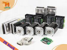 [EU FREE] 4Axis wantai Nema34step motor with 1232oz-in +4pcs power supply
