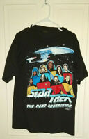 Star Trek The Next Generation T Shirt Vintage 1987-1994 Made In USA Large