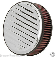 Kn Universal Filtro de aire (RK-3913) H/D SPORTSTER Filter Kit, Redondo Acanalado