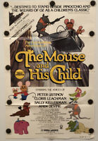 THE MOUSE AND HIS CHILD Original One Sheet SS/Folded Movie Poster - 1977