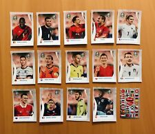 ⚽️Panini Euro EM 2020 Tournament Edition Cola C1-C14+Impossible Sticker Komplett