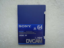 DVCAM SONY PDV-64N Didital Video Cassette - New