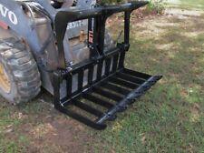 "MTL Dingo-Vermeer Mini skid steer 42"" quick attach HD Root Grapple -Ship $149"