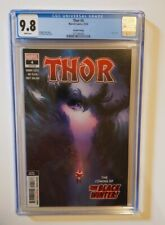 THOR #4 2ND PRINT CGC 9.8  CAMEO APP OF BLACK WINTER Donny Cates
