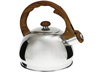 Whistling Kettle 2. L Stainless Steel Silver brown gas  induction / STOVE TOP