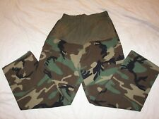 Women's Military Camo Maternity Pants - 16S