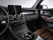 Original Mercedes Benz Mittelkonsole GLC 253 Holz Esche schwarz offenporig NEU