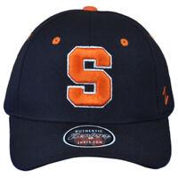 NCAA Zephyr Syracuse Orange Navy Curved Bill Structured Men Adjustable Hat Cap