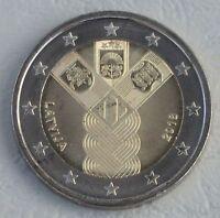2 Euro Lettland 2018 100 Jahre Unabhängigkeit unz.