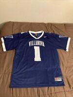 Villanova Wildcats #1 Football Jersey Size Large Nike Team