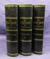 Allioli die heilige Schrift des alten Testaments 1- 3 komplett 1885 Theologie js
