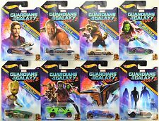 2017 Hot Wheels: GUARDIANS of the GALAXY - WALMART Exclusive Complete 8 Car Set