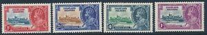 SG 139 - 142 Fiji 1935 Silver Jubilee set unmounted mint CAT £48