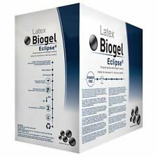 Molnlycke Biogel 75280  Eclipse size 8,  4 boxes, 50 Each - Total 200 Gloves