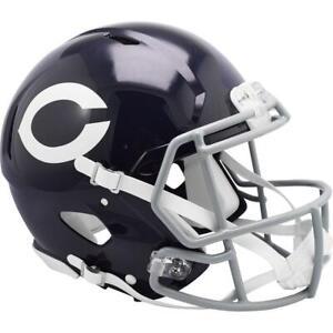 CHICAGO BEARS 1962-73 Riddell Throwback Authentic Football Helmet
