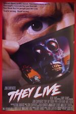 They Live John Carpenters Roddy Piper Meg Foster Movie Picture Poster 24X36 New