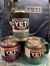 Yeti Lot Set Camp Cups And Colster