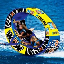 WOW Watersports XO Extreme Inflatable Water 1-3 Rider Tube Boat Towable 12-1030