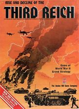 Avalon Hill Third Reich PDF Reference Disc + Free P&P