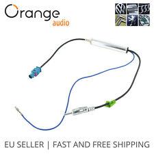 Opel, Seat, Peugeot, Citroen, Skora, Vw antenna adapter, aerial adapter Fakra