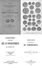 46 catalogues et d'annuaires sur la numismatique la France - DVD
