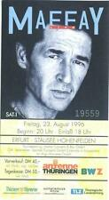 Peter Maffay - Live - altes Konzert-Ticket  vom 23.08.1996 Erfurt Stausee