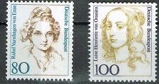 Bund MiNR 1755 + 1756 Freimarken Frauen der deutschen Geschichte postfrisch **